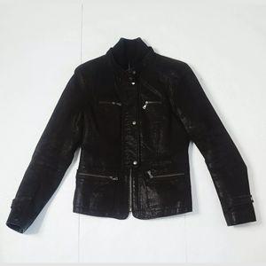 Danier Women's Leather 100% jacket Sz Small